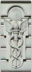Masonic-Pine-Cone-Caduceus whitehall ny