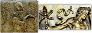 Sumerian god Marduk/ Dionysus