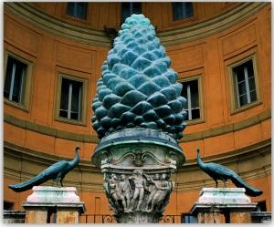 Pigna in Pinecone Courtyard, Vatican